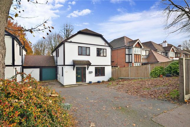Thumbnail Link-detached house for sale in Woodcote Road, Wallington, Surrey