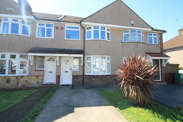 Thumbnail Terraced house to rent in Haddon Grove, Sidcup