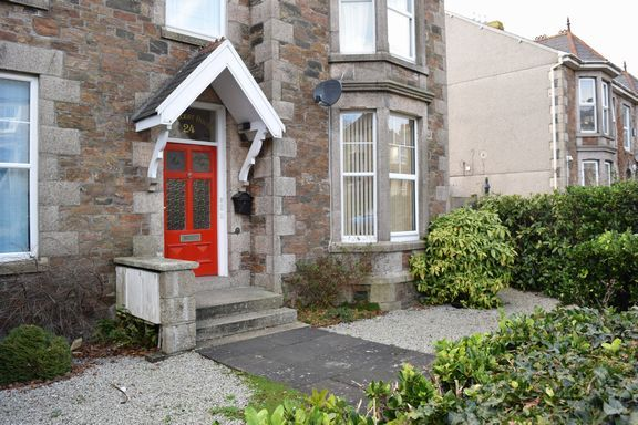 Thumbnail Flat for sale in Clinton Road, Redruth