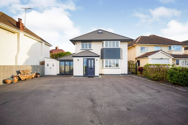 Thumbnail Detached house for sale in Meols Parade, Meols, Wirral