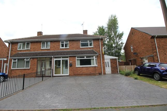 Thumbnail Semi-detached house for sale in Cannock Road, Wednesfield, Wolverhampton