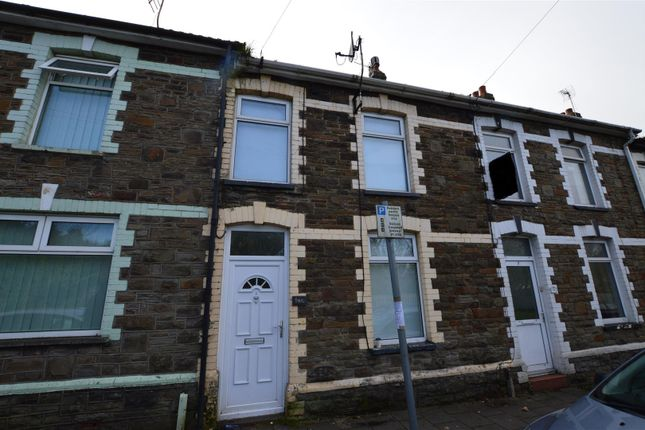 Thumbnail Terraced house to rent in Danygraig Terrace, Main Road, Cross Inn, Pontyclun