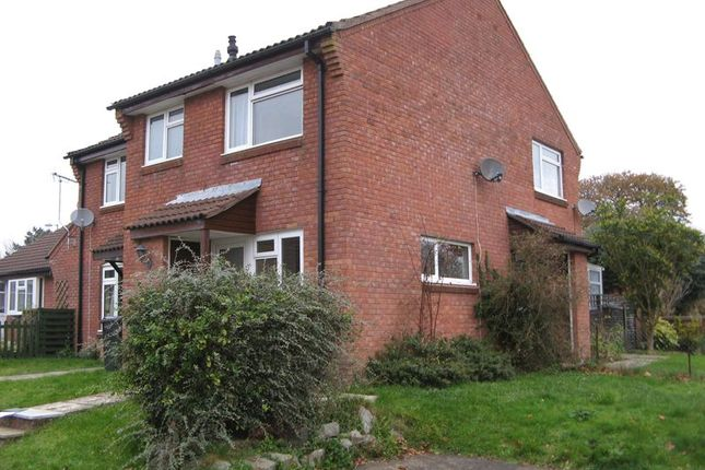 Thumbnail End terrace house to rent in Constable Close, Yeovil