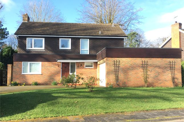 Thumbnail Detached house for sale in Woodmancourt, Off Mark Way, Godalming, Surrey