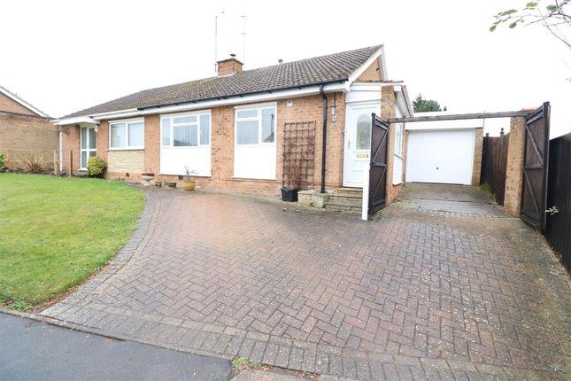 Thumbnail Semi-detached bungalow for sale in Boughton Drive, Rushden