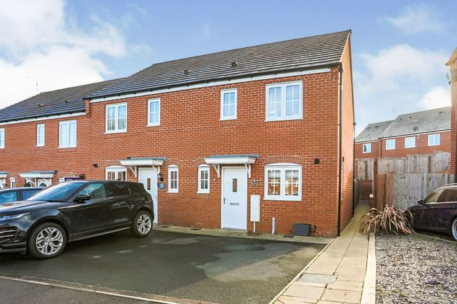 2 bed end terrace house for sale in Hebe Way, Whitnash, Leamington Spa CV31