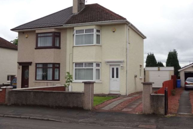 Thumbnail Semi-detached house to rent in Sugworth Avenue, Baillieston, Glasgow