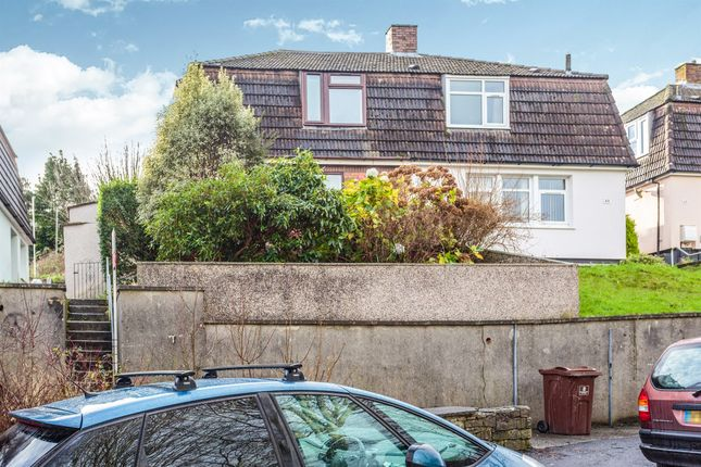 Thumbnail Semi-detached house for sale in Kit Hill Crescent, Plymouth