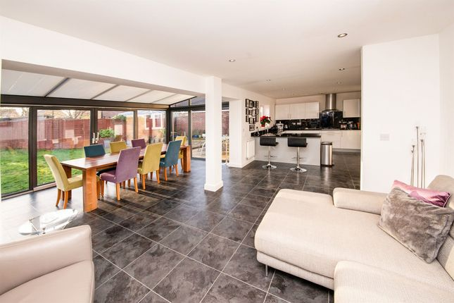 Thumbnail Detached house for sale in Sherbourne Drive, Old Sarum, Salisbury