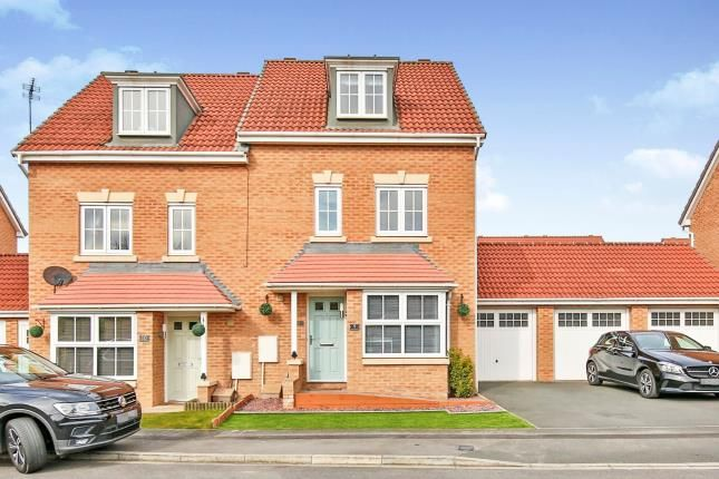 Thumbnail Semi-detached house for sale in The Covert, Coulby Newham, Middlesbrough, Teeside