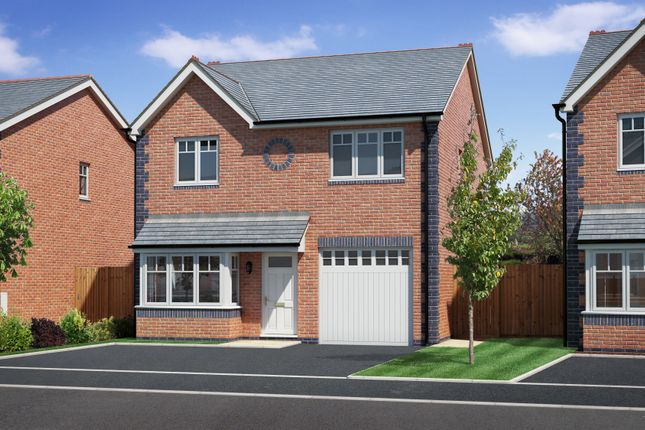 Thumbnail Detached house for sale in Arddleen, Powys