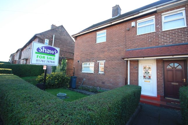 Thumbnail Semi-detached house for sale in Hoskins Road, Tunstall, Stoke-On-Trent