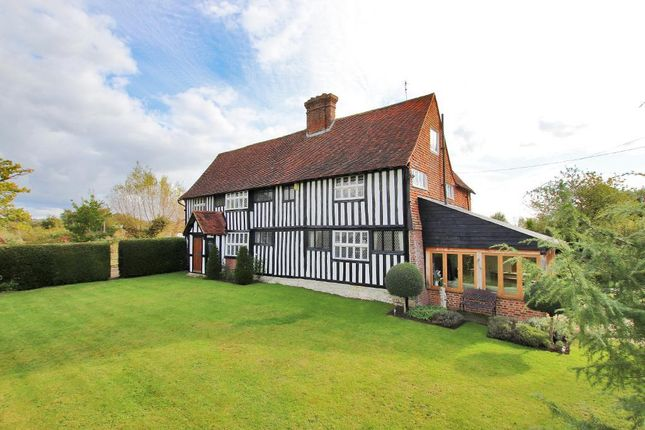 6 bed detached house for sale in East Sutton Road, East Sutton, Sutton Valence, Kent ME17