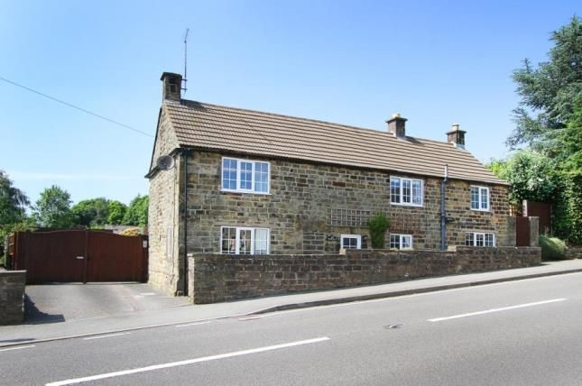 Thumbnail Detached house for sale in Matlock Road, Kelstedge, Chesterfield, Derbyshire