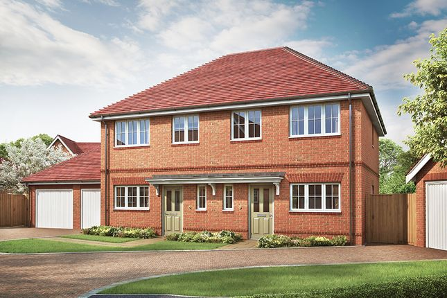 Thumbnail Semi-detached house for sale in The Milford, Ellsworth Park, Foreman Road, Ash, Surrey