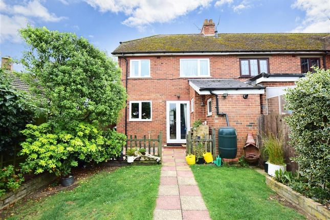 Thumbnail End terrace house for sale in Belcaire Close, Lympne, Hythe, Kent