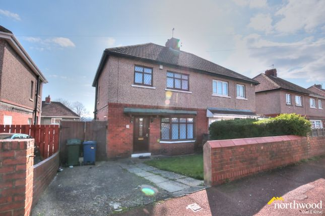 Thumbnail Semi-detached house to rent in Benwell Grange Terrace, Benwell, Newcastle Upon Tyne