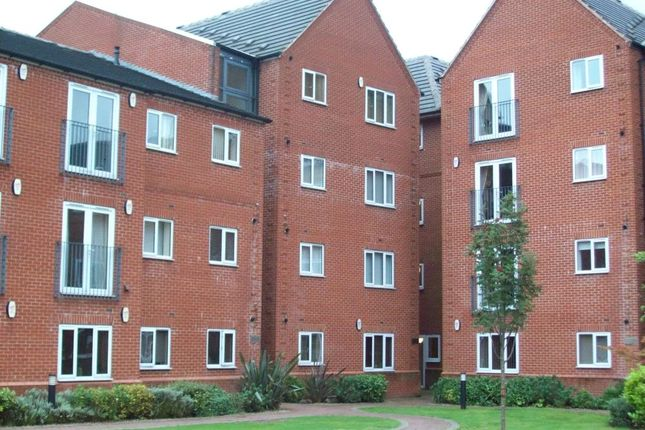 Thumbnail Flat to rent in Belvedere House, The Connexion, Chaucer Street, Mansfield