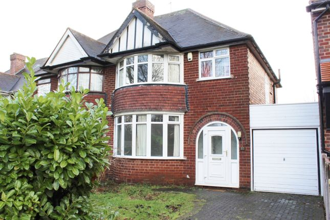 Thumbnail Semi-detached house for sale in Romilly Avenue, Birmingham