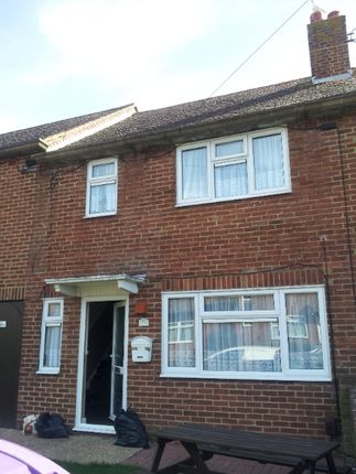 Thumbnail Terraced house to rent in Charles Crescent, Folkestone, Kent