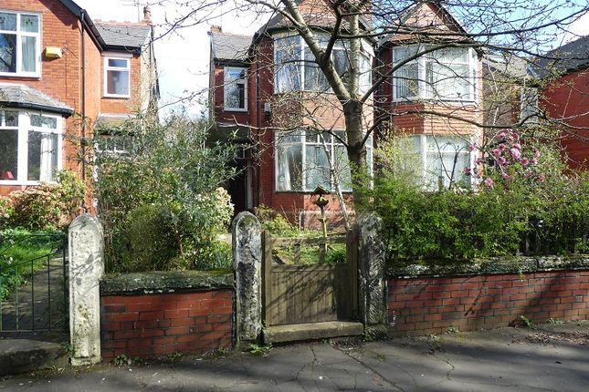 Thumbnail Semi-detached house for sale in Rufford Road, Whalley Range, Manchester.