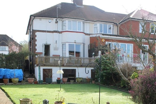 Thumbnail Semi-detached house for sale in Alverstone Road, Wembley