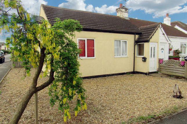 Thumbnail Semi-detached bungalow for sale in Dobney Avenue, Queniborough, Leicester