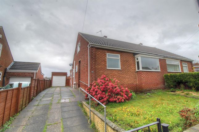 Thumbnail Semi-detached bungalow for sale in Carlton Crescent, East Herrington, Sunderland