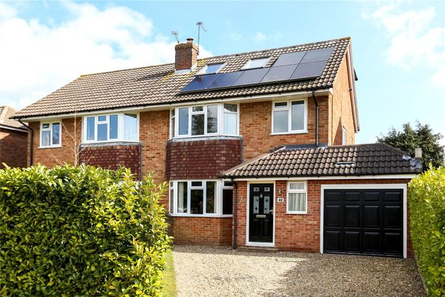 Thumbnail Semi-detached house for sale in Orchard Close, Normandy, Guildford, Surrey