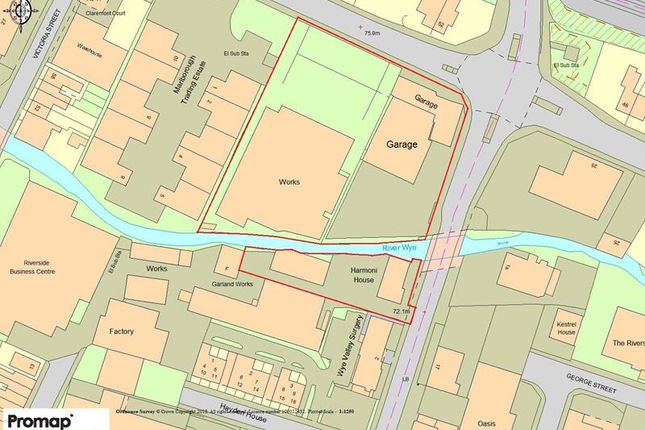Thumbnail Land for sale in Prime Development Site, West Wycombe Road/Desborough Avenue, High Wycombe, Bucks