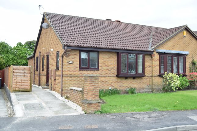 Thumbnail Semi-detached bungalow to rent in Meadowgate Drive, Lofthouse