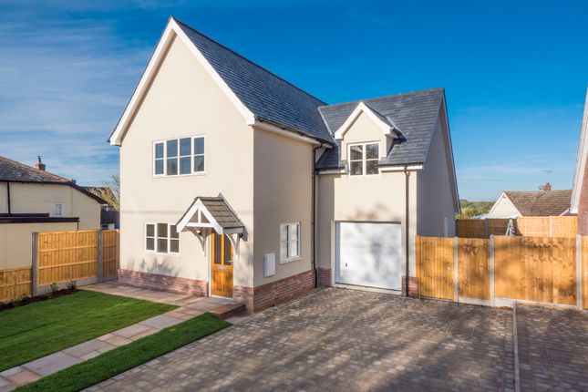 Thumbnail Detached house for sale in Hitcham, Ipswich, Suffolk