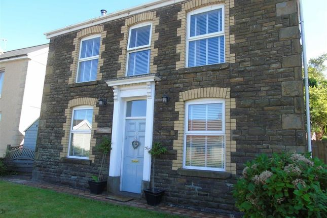 Thumbnail Detached house for sale in Station Road, Glais, Swansea