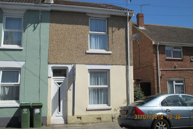 Thumbnail End terrace house to rent in Norland Road, Southsea