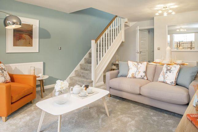 "Thumbnail Semi-detached house for sale in ""Richmond"" at Briggington, Leighton Buzzard"