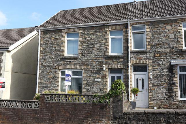 Thumbnail Semi-detached house for sale in Heolgerrig Road, Merthyr Tydfil