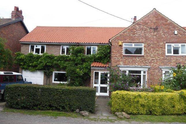 Thumbnail Semi-detached house for sale in Lodge Lane, Brompton, Northallerton