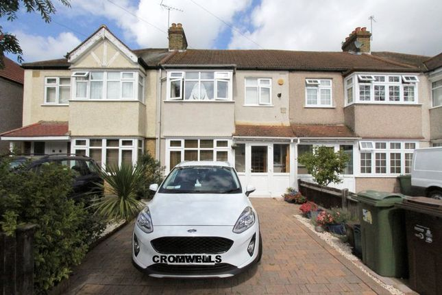 Thumbnail Terraced house for sale in Buxton Crescent, North Cheam, Sutton