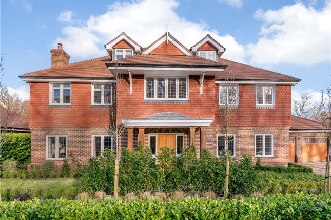 Thumbnail Detached house for sale in Fern Mead, Cranleigh, Surrey