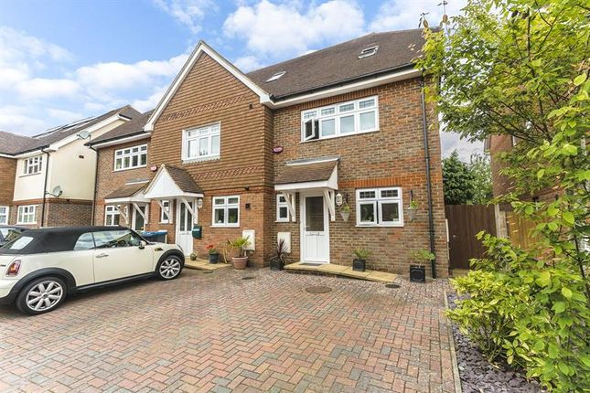 Thumbnail Town house for sale in Stanstead Close, Caterham