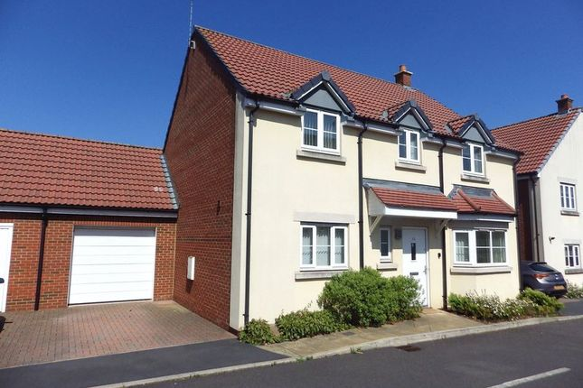 Thumbnail Detached house to rent in John St. Quinton Close, Stoke Gifford, Bristol