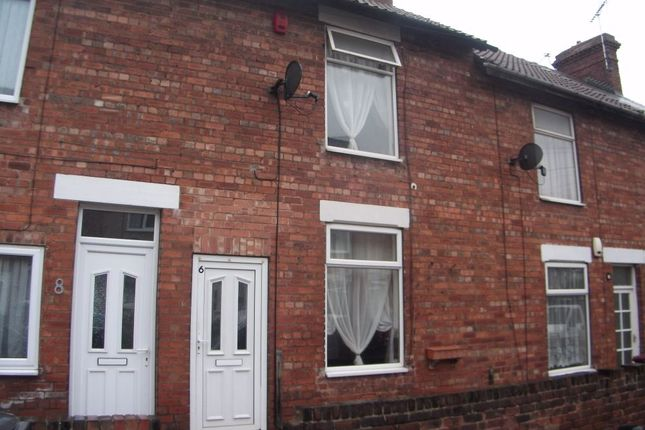 Thumbnail Terraced house to rent in Ann Street, Creswell, Worksop, Nottinghamshire
