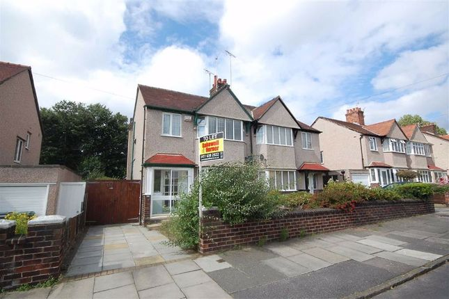 Thumbnail Semi-detached house to rent in Gloucester Road, Wallasey, Wirral