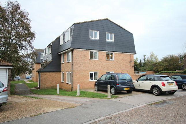 Thumbnail 2 bed flat for sale in The Glebe, Saffron Walden