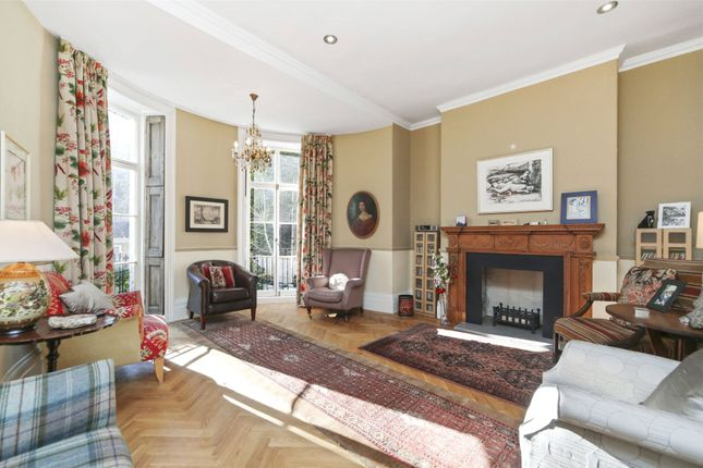 Thumbnail End terrace house for sale in Addison Bridge Place, London