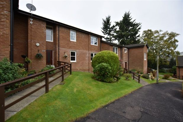Thumbnail Flat for sale in Strathearn Court, Crieff