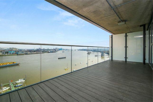 Thumbnail Flat to rent in Platinum Riverside, 15 Bessemer Place, London