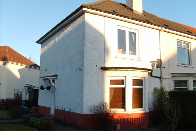 Thumbnail Terraced house to rent in Danes Crescent, Scotstounhill, Glasgow
