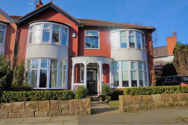 Thumbnail Semi-detached house for sale in Garth Drive, Liverpool
