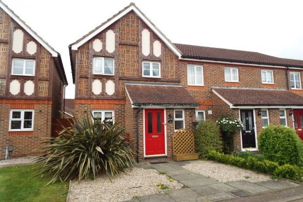 Thumbnail End terrace house to rent in Blackdown Close, Stevenage